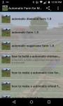 Automatic Farm for minecraft screenshot 2/6