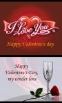 Valentine s Day E-Card screenshot 1/3