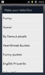 fb Shuffle - Facebook Twitter Status Updates screenshot 2/3