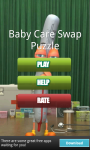 Baby Care Swap Puzzle screenshot 1/3