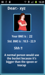 BMI Scanner Know Your Health screenshot 2/5