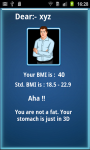 BMI Scanner Know Your Health screenshot 4/5