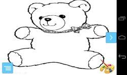 Cute Bear Coloring Book Pages screenshot 1/3