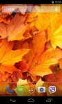 Autumn Leaves Live Wallpaper FREE screenshot 3/5