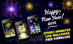 New Year Sparks 2015 screenshot 1/4