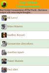Top Cricket Commentators screenshot 2/3