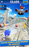sonic dash Angry subway screenshot 1/5