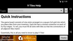 9 Tiles screenshot 6/6