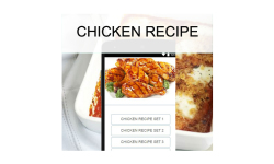 Chicken recipes food screenshot 1/3