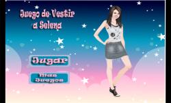 Selena dress up games screenshot 1/3