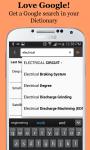 Electrical Engineering Dictionary screenshot 3/6
