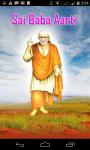 Sai Baba Aarti In Hindi screenshot 1/6