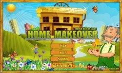 Free Hidden Object Games - Home Makeover screenshot 1/4
