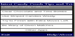 CANDY CRUSH  EXPERT screenshot 1/1