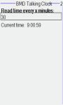 Talking clock remaider screenshot 2/4