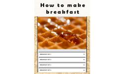how to make breakfast screenshot 1/3