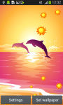 Dolphins Live Wallpapers Free screenshot 2/6