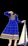 pic of Anarkali dress suit screenshot 1/4