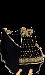 pic of Anarkali dress suit screenshot 3/4