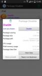 Package Disabler Pro Samsung great screenshot 4/6