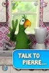 Talking Pierre the Parrot Free screenshot 1/5