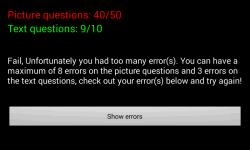 Theory Test Lite screenshot 6/6