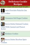 Delicious Cookie Recipes screenshot 1/2