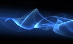 Blue Cosmic Live Wallpaper screenshot 2/3