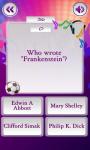 Science Fiction Super Quiz screenshot 1/5