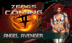 Zergs Coming 2 Angel Avenger  screenshot 1/6