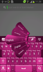 Pink Stars Keyboard screenshot 3/6