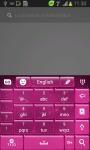 Pink Stars Keyboard screenshot 4/6