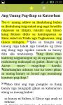 Cebuano Bible screenshot 2/3