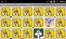 Bugs Bunny Pexeso screenshot 2/2