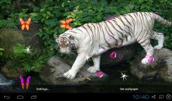3D Bengal Tiger Live Wallpapers screenshot 1/5