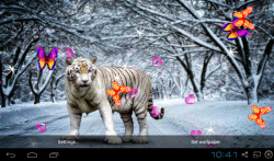 3D Bengal Tiger Live Wallpapers screenshot 2/5