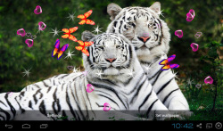 3D Bengal Tiger Live Wallpapers screenshot 3/5