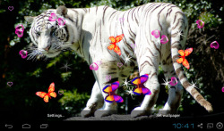 3D Bengal Tiger Live Wallpapers screenshot 4/5