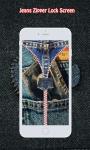 Jeans Zipper Lock Screen screenshot 5/6