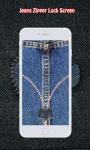 Jeans Zipper Lock Screen screenshot 6/6