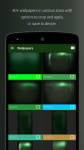 PipTec Green Icons and Live Wall actual screenshot 2/6