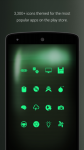 PipTec Green Icons and Live Wall actual screenshot 4/6