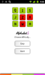 Alphabet 5 Lite screenshot 1/6