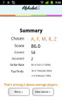 Alphabet 5 Lite screenshot 6/6