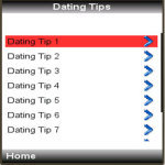 Dating Tips Lite screenshot 2/4