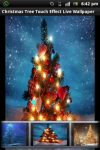 Christmas Tree Touch Live Wallpaper screenshot 1/4