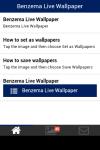 Benzema Live Wallpaper screenshot 2/5