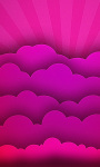 Pink Clouds Live Wallpaper screenshot 1/4