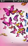 Butterflies Live Wallpaper 2 screenshot 2/4
