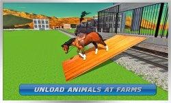 Transport Train: Farm Animals screenshot 4/4